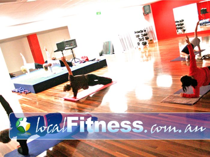 Re-Creation Health Clubs Brighton East Stage flooring and perfect views from all angles.