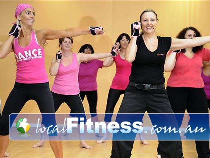 Kmotion Fitness Studio Near Yallambie try our Piloxing classes a combination of Pilates and boxing at Kmotion Viewbank.