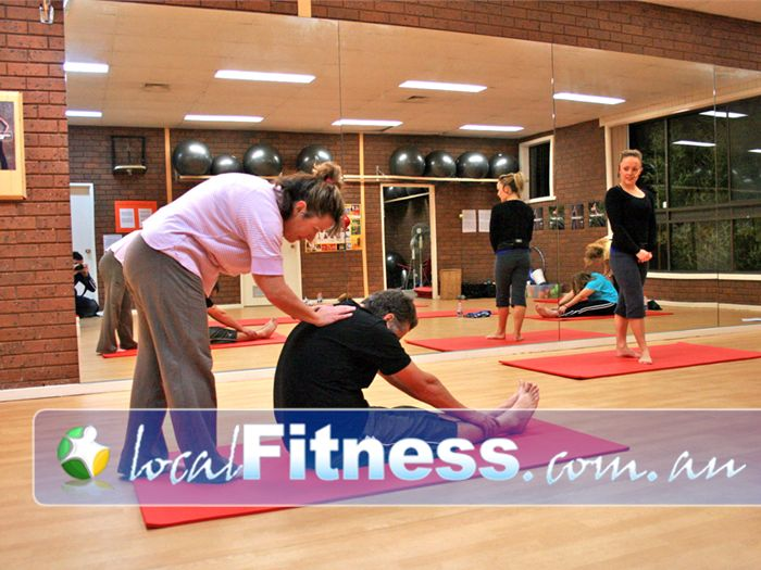 Kmotion Fitness Studio Viewbank Participants work together to achieve their goals.