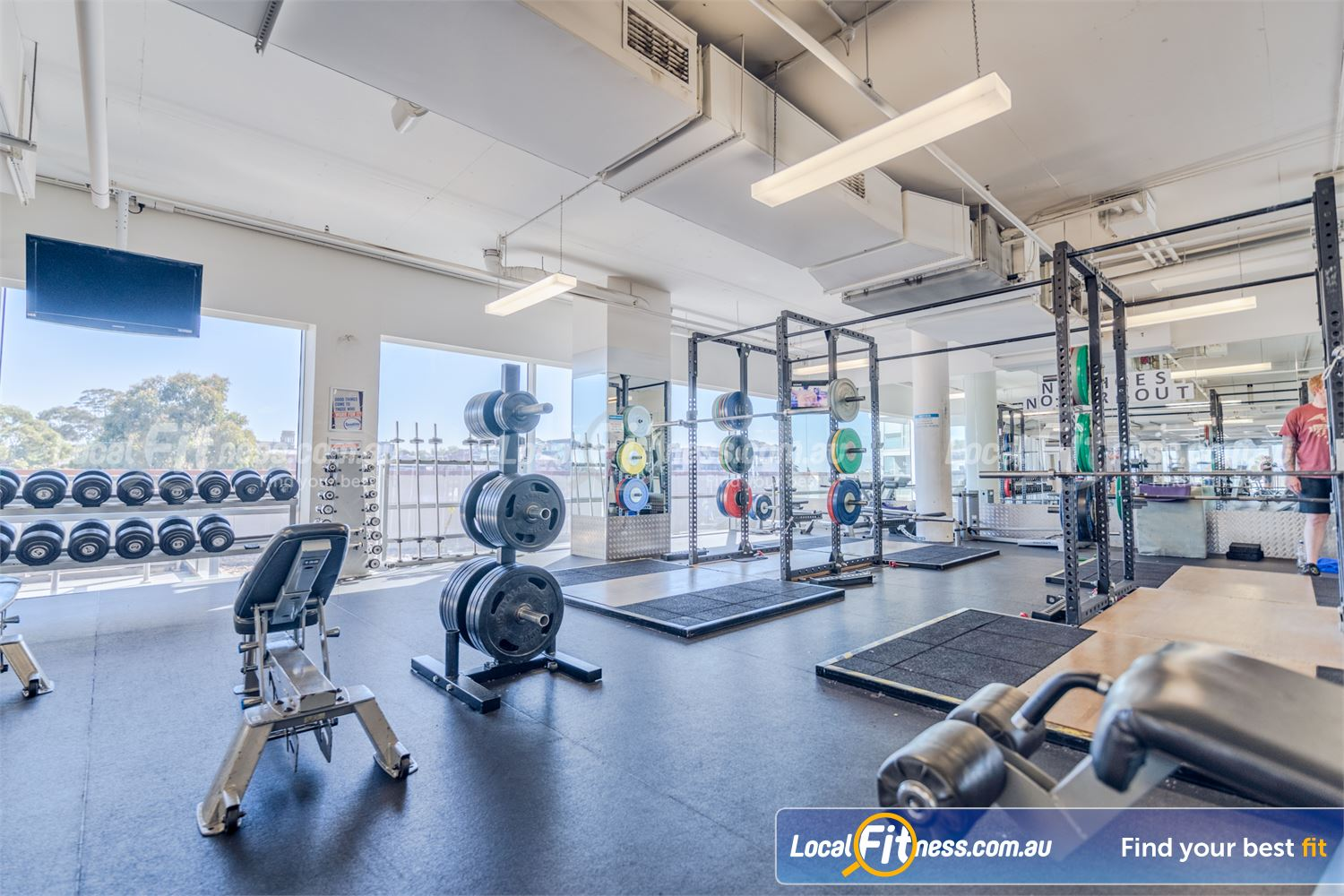 Goodlife Health Clubs Camberwell Our Camberwell gym is fully equipped for strength training.