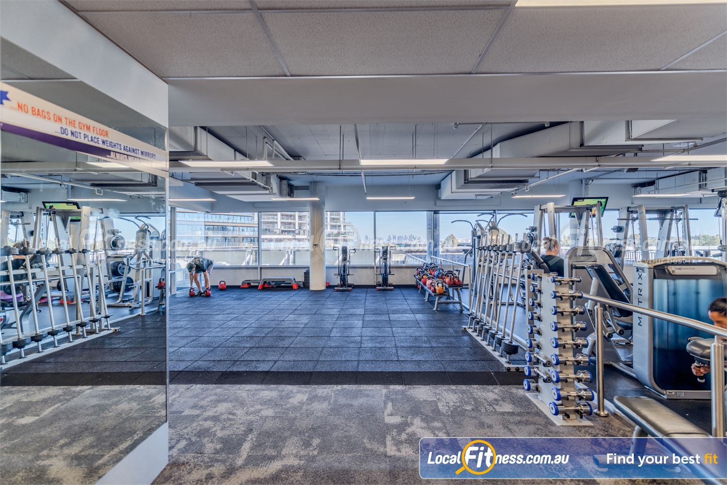 Goodlife Health Clubs Near Canterbury Our Camberwell gym includes 2400 sq/m of fitness under one roof.