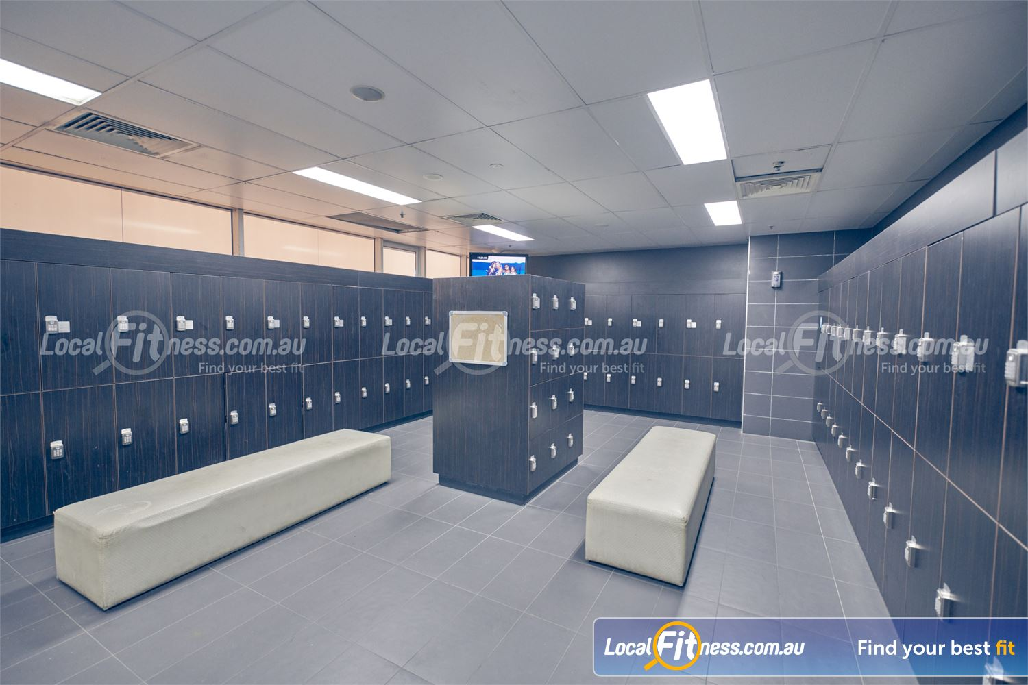 Goodlife Health Clubs Near Glen Iris 5-star change room facilities with relaxing steam room.