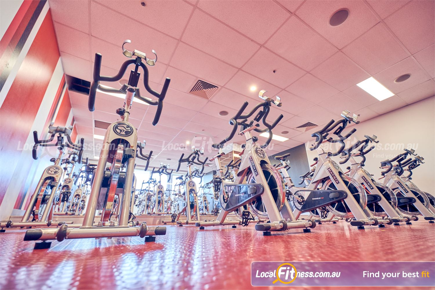 Goodlife Health Clubs Near Canterbury Our dedicated Camberwell spin cycle studio.