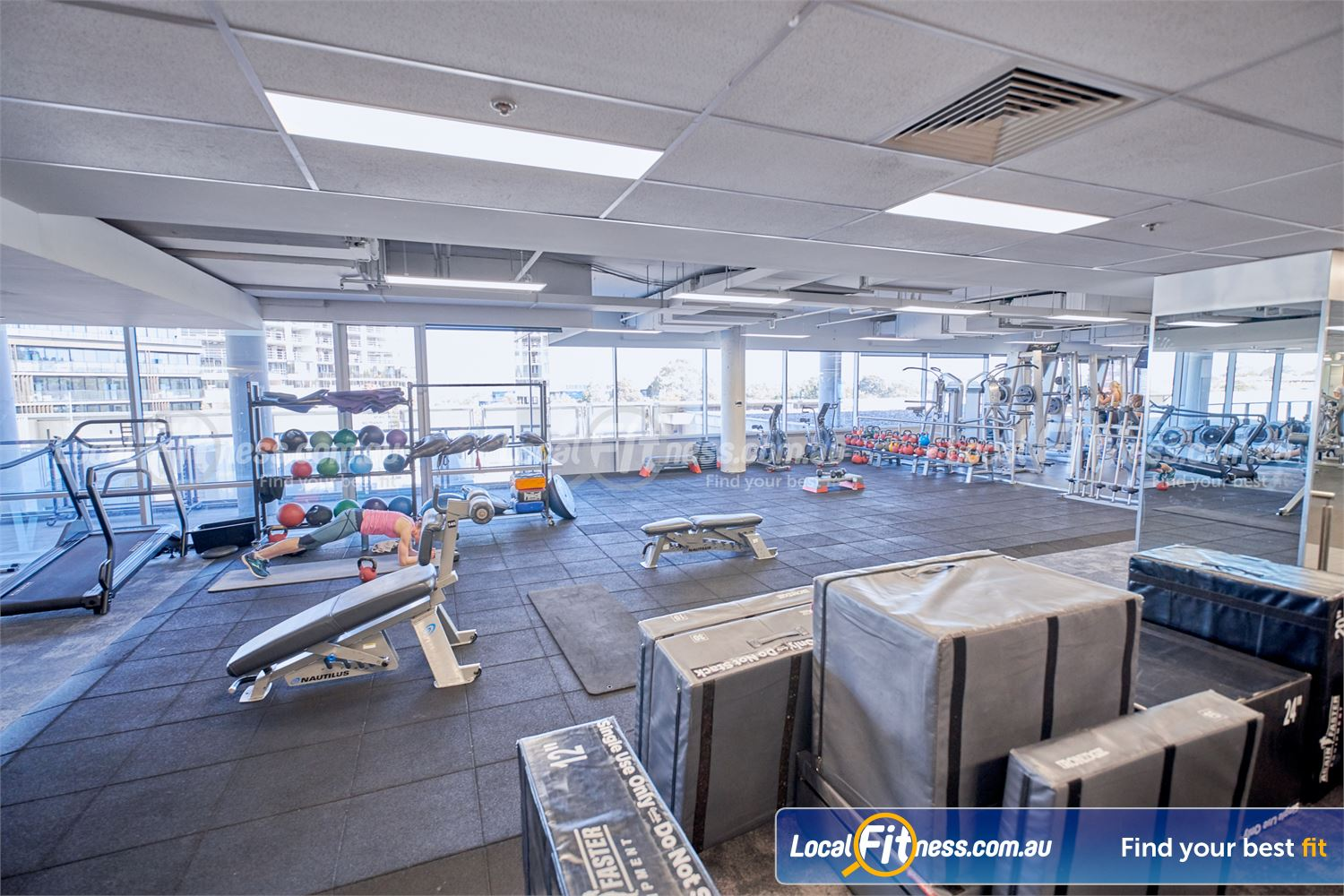 Goodlife Health Clubs Near Canterbury Our functional training area is fully equipped with medicine balls, kettlebells and more.