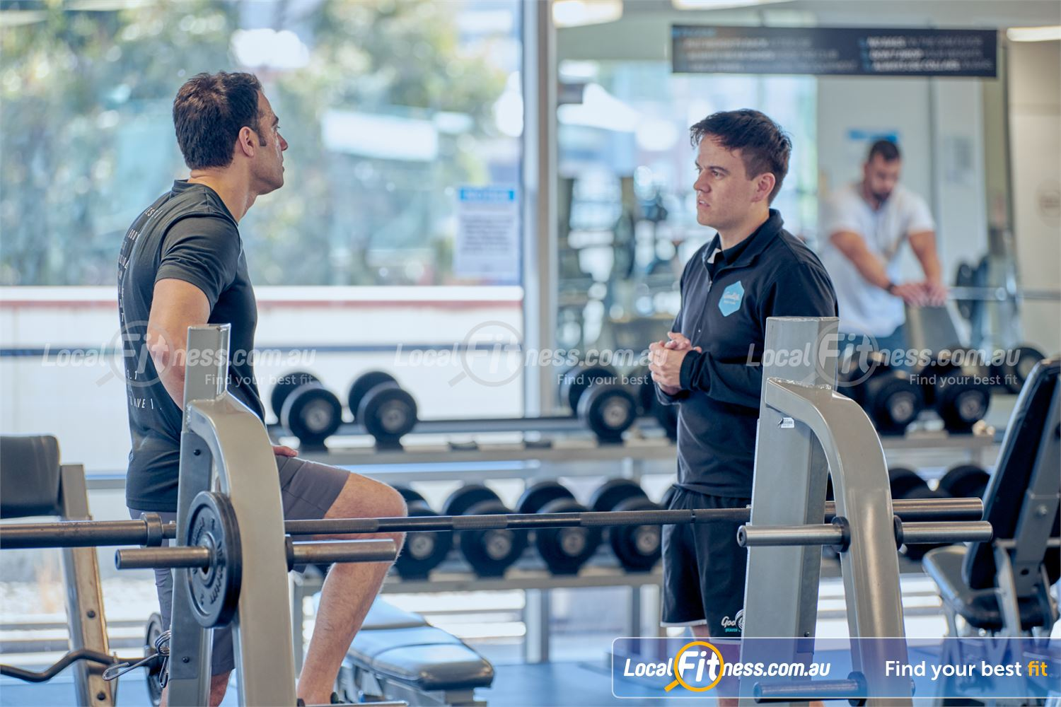 Goodlife Health Clubs Near Glen Iris Our Camberwell gym team can help you with your strength training goals.