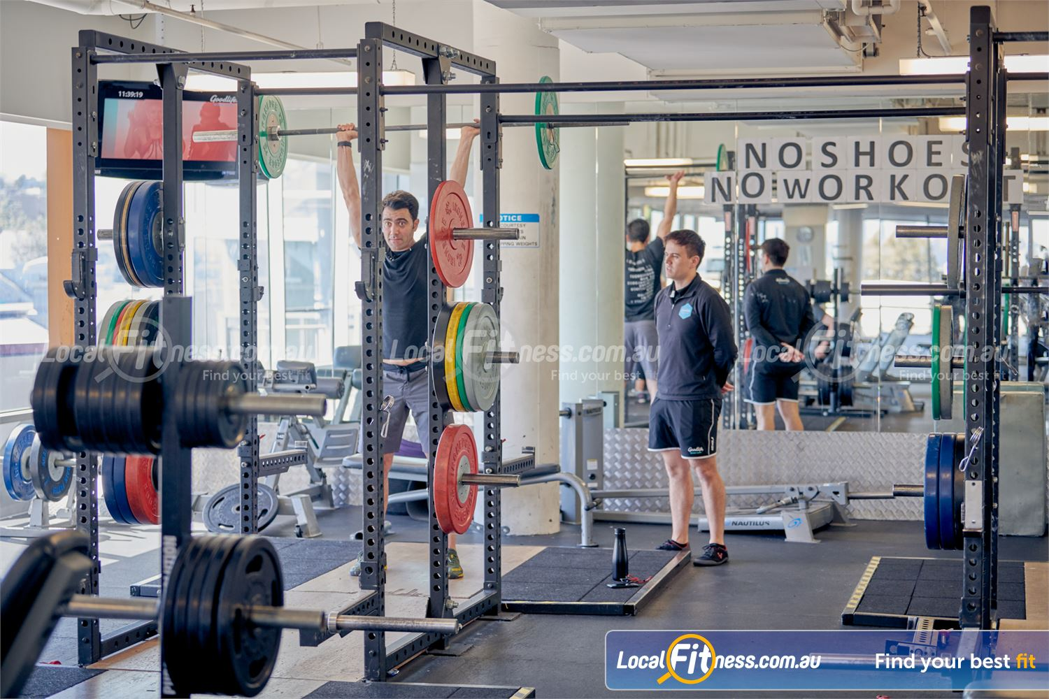 Goodlife Health Clubs Near Glen Iris Our gym includes Olympic lifting platforms perfect for squats and deadlifts.