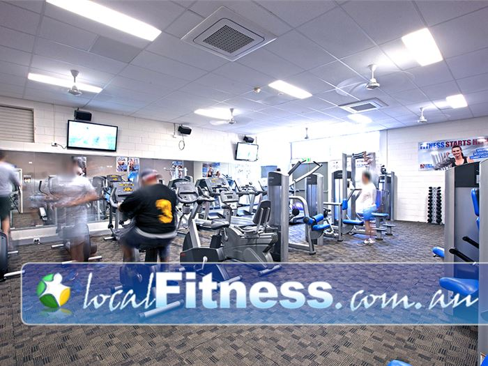PCYC Gym Brookwater  | Our Inala gym provides a spacious 250 sq/m