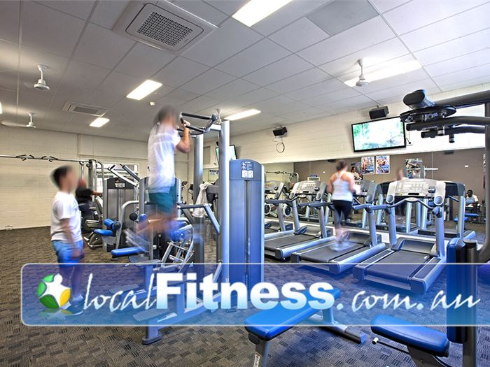 PCYC Gym Collingwood Park  | State of the art equipment from Life Fitness