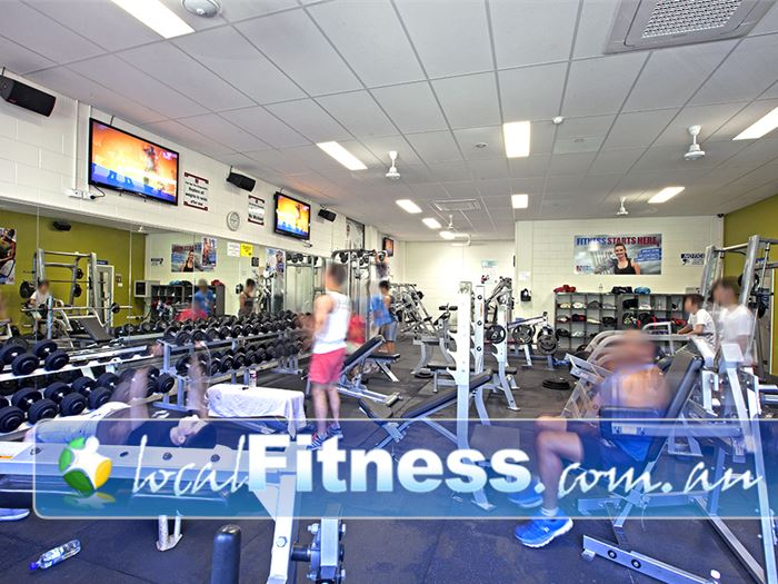 PCYC Gym Mount Gravatt  | A comprehensive range of free-weights including dumbbells and
