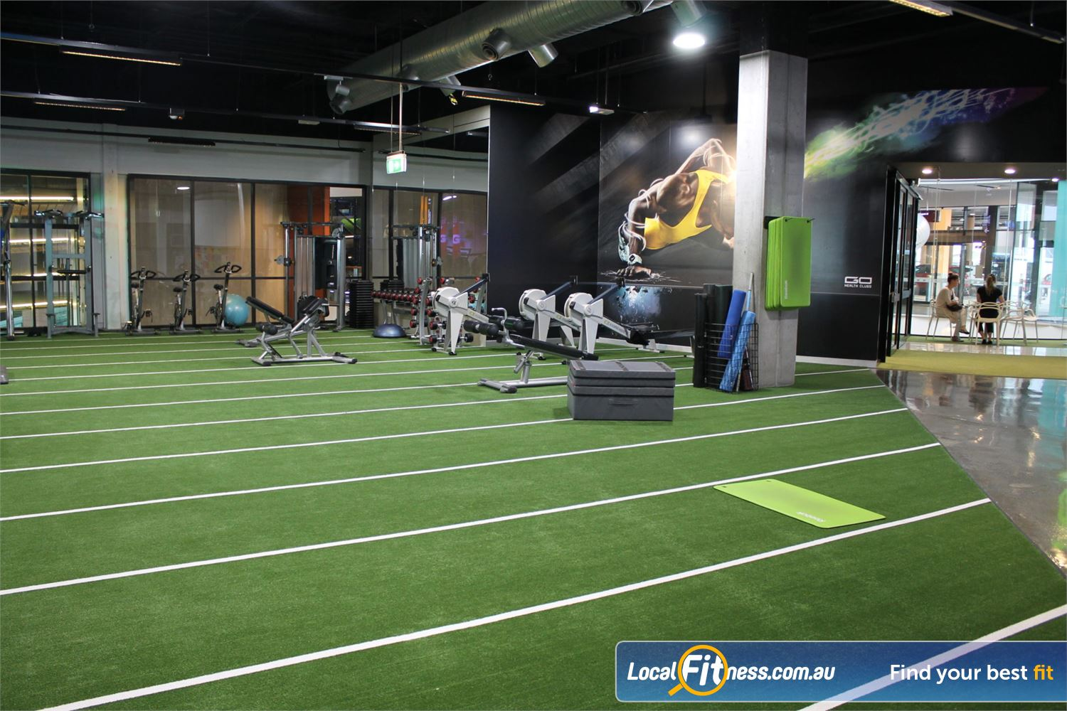 Goodlife Health Clubs Near Belmont Our Carindale gym provides 2000 sq/m of fitness under one roof.