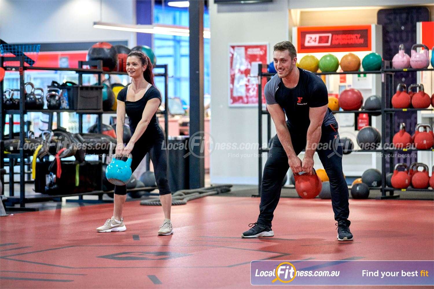 Fitness First Near Wheelers Hill Our Glen Waverley gym team can show you the benefits of kettlebells.