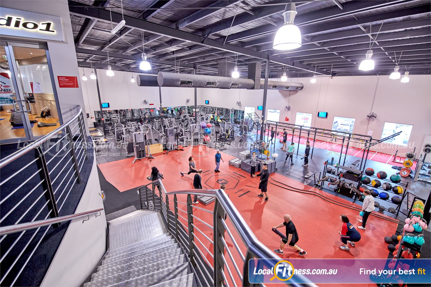 Fitness First Near Burwood East Our Glen Waverley gym provides an emphasis on functional and innovative training.