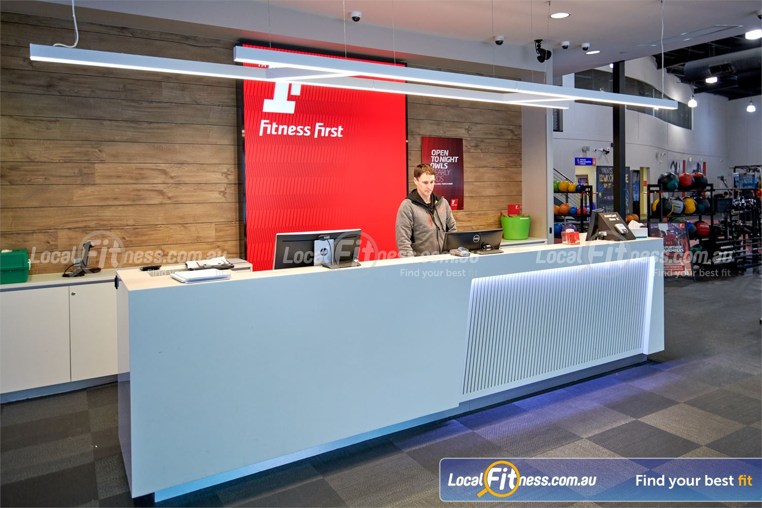 Fitness First Glen Waverley Our Fitness First Glen Waverley team are ready to help you find your best fit.
