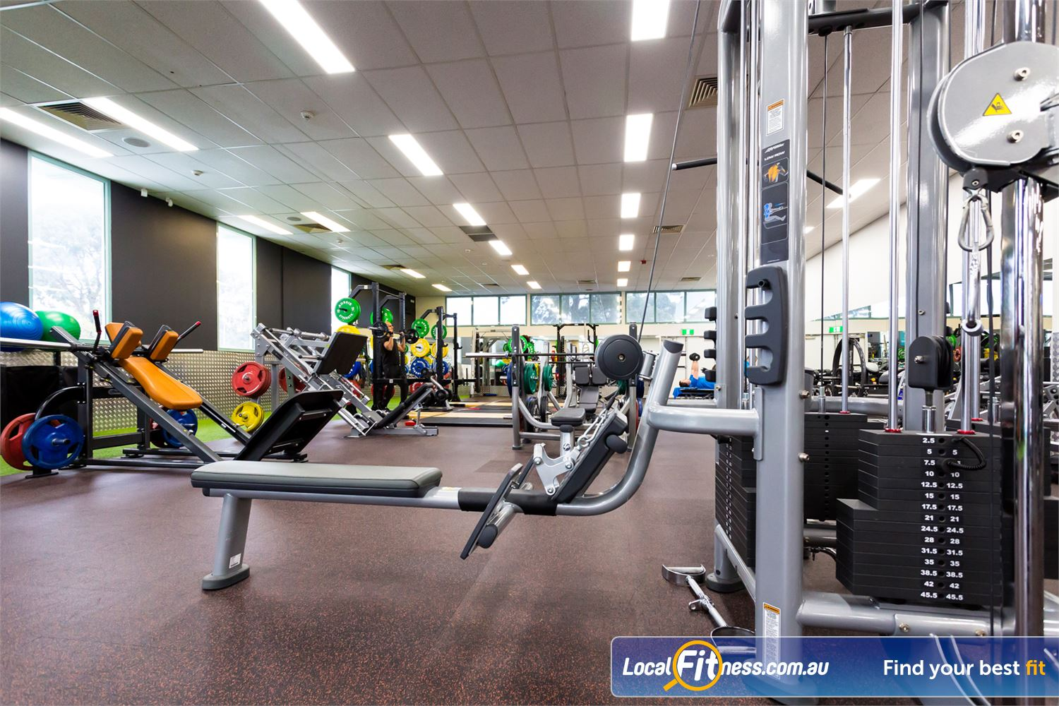 Reservoir Leisure Centre Reservoir Our spacious Reservoir gym is fully equipped with all the latest training equipment.