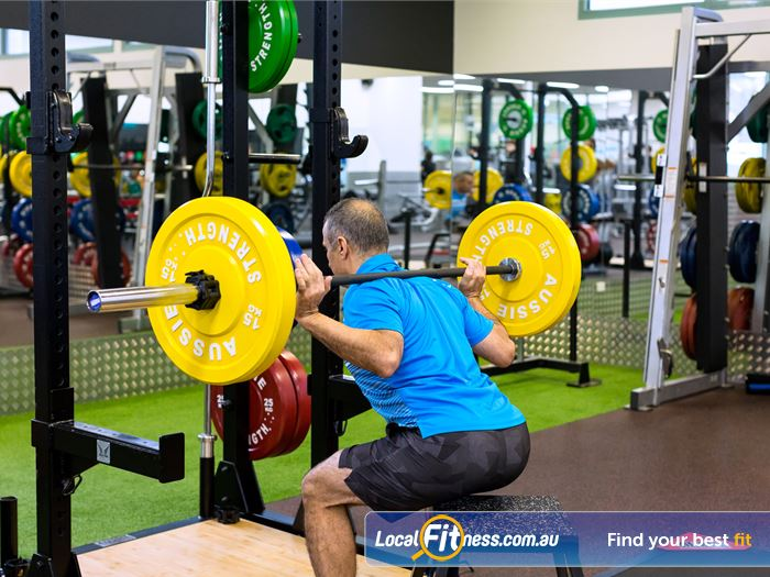 Reservoir Leisure Centre Gym Heidelberg    A wide variety of strength training at the