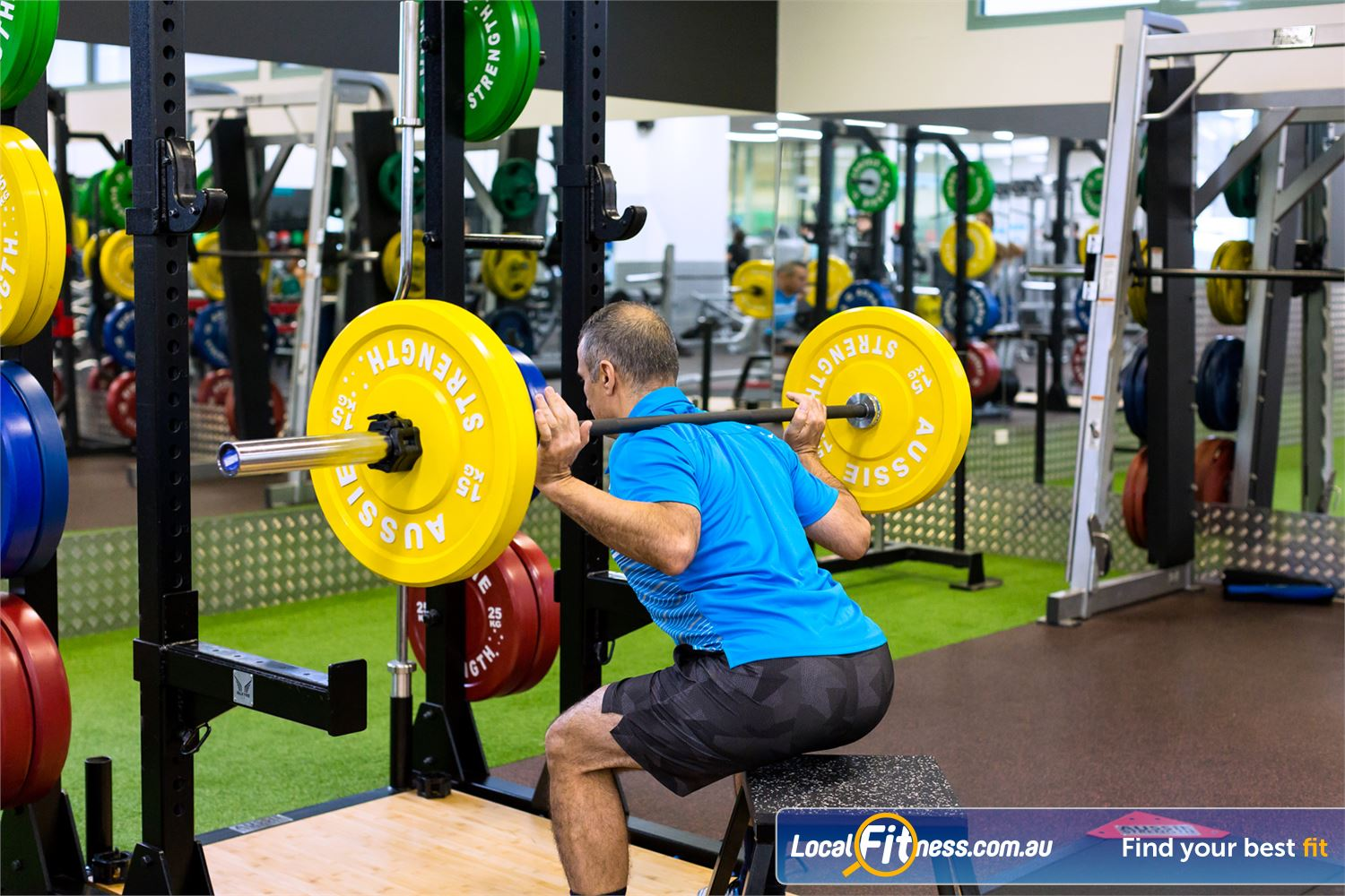 Reservoir Leisure Centre Reservoir A wide variety of strength training at the Reservoir Leisure Centre.