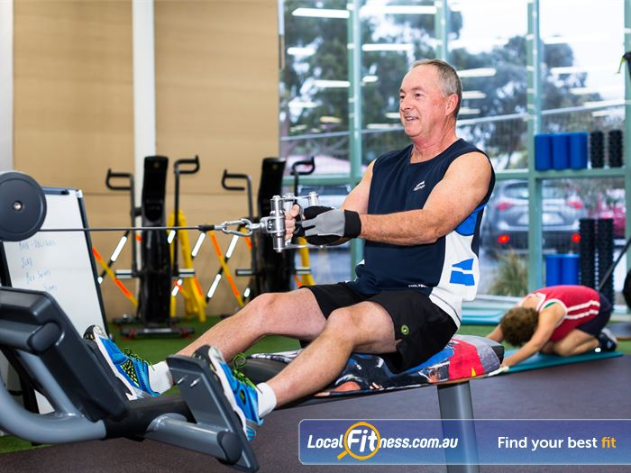 Reservoir Leisure Centre Gym Greensborough  | The spacious Reservoir gym.