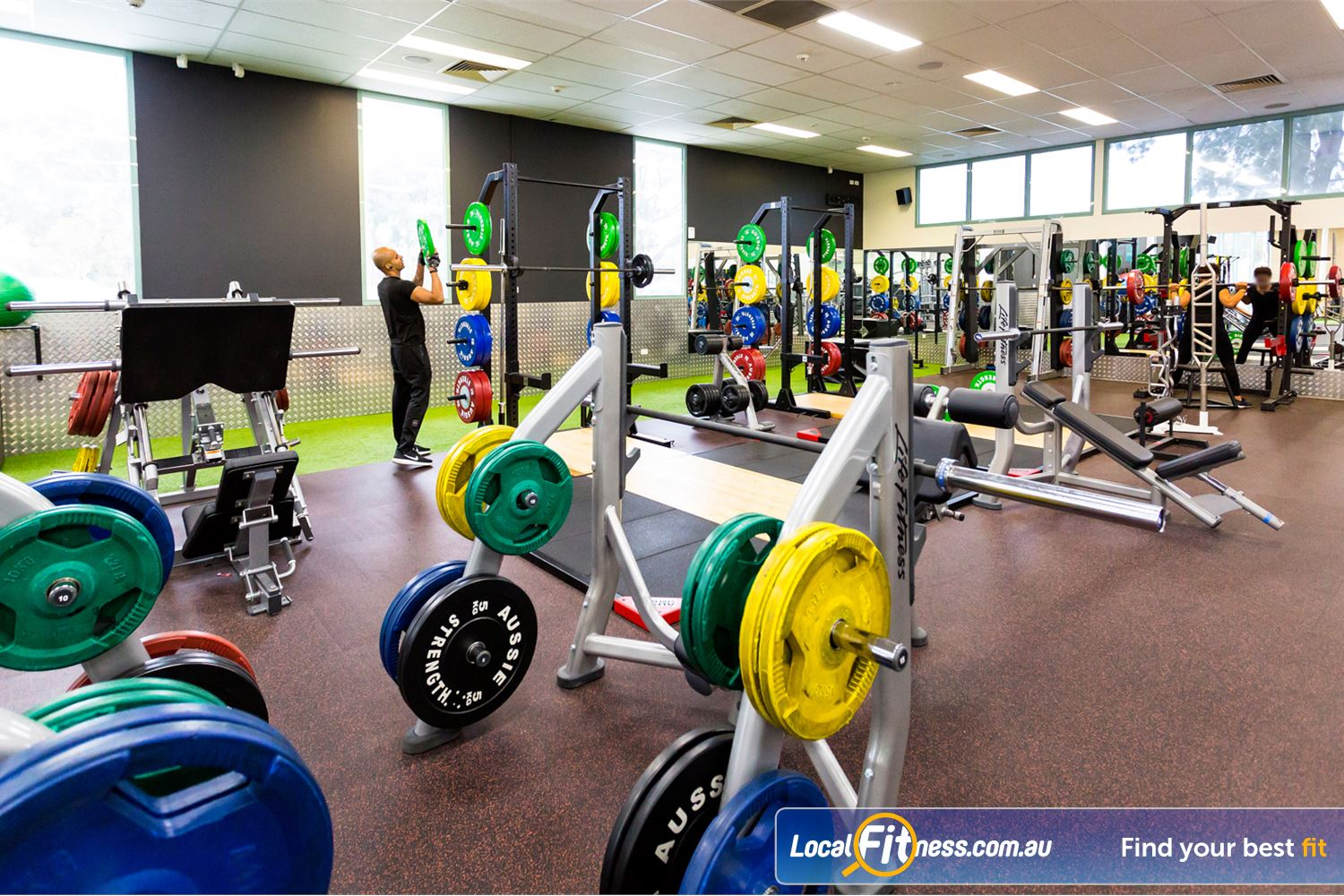 Reservoir Leisure Centre Near Heidelberg Rgh Our spacious Reservoir gym.