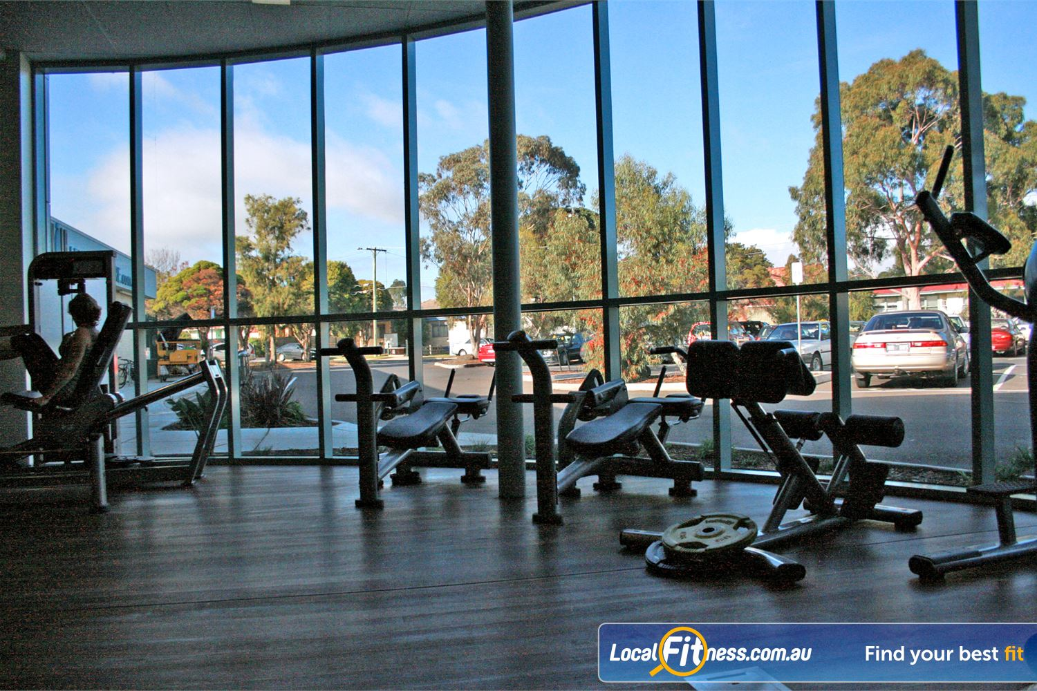 Reservoir Leisure Centre Reservoir Our range of ab machines with beautiful and soothing natural lighting.
