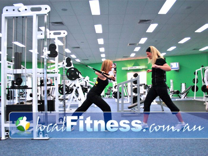 Lime Health & Fitness Carrum Downs The latest cable weight technology.