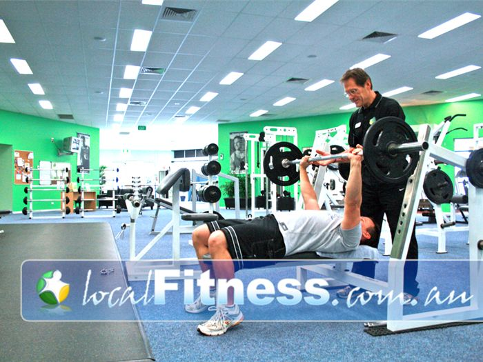 Lime Health & Fitness Near Cranbourne West Free-weights training for all levels and abilities.