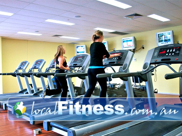 Lime Health & Fitness Near Lyndhurst Enjoy your favorite TV shows while you train.