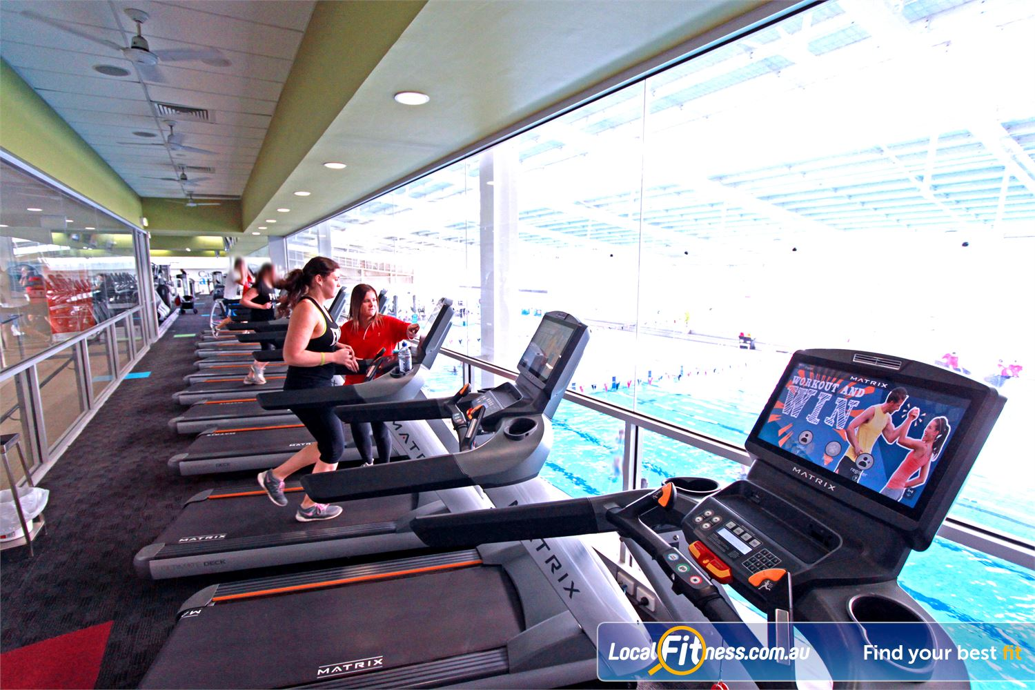 Casey Arc Narre Warren The best cardio views in the south east with the best equipment from Matrix.