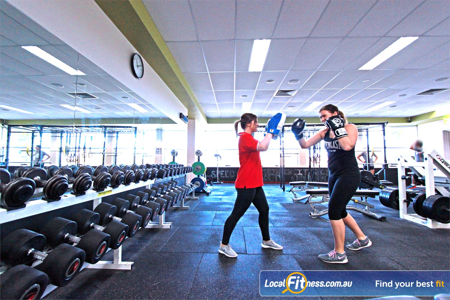 Casey Arc Near Hampton Park Our Narre Warren personal trainers can include boxing into your workout for fast fat burning.
