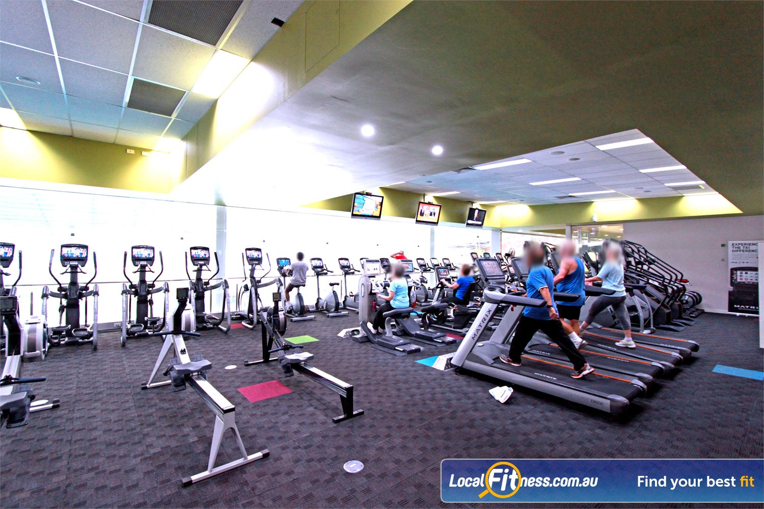 Casey Arc Near Berwick A fully equipped cardio area with treadmills, cross trainers, rowers and more.
