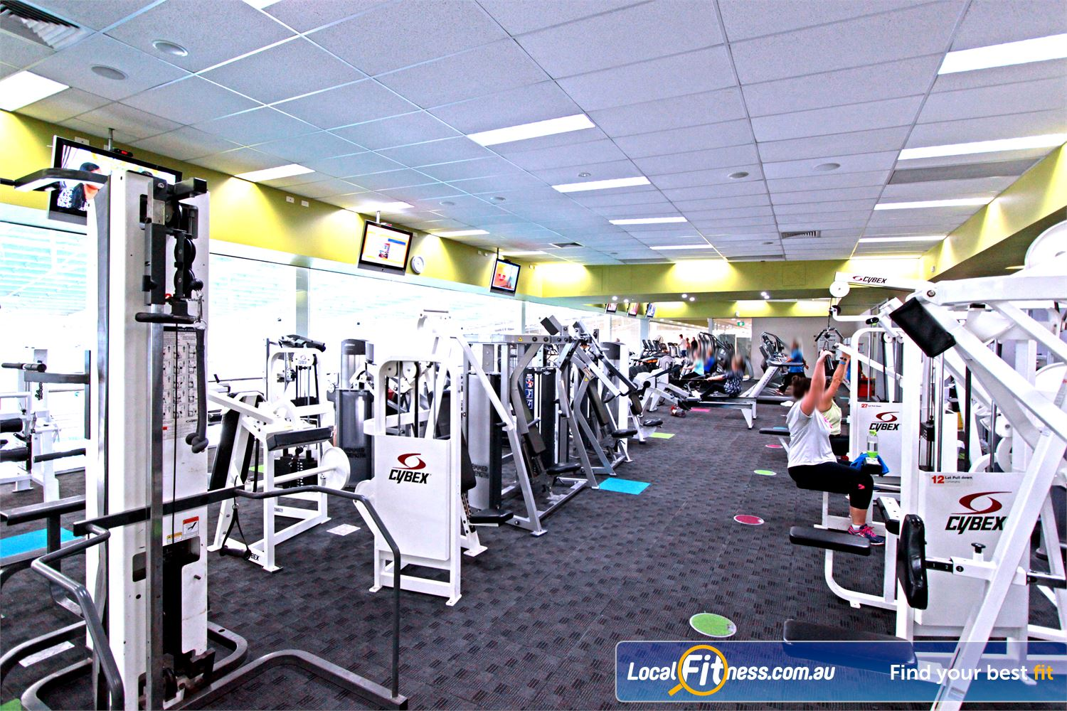 Casey Arc Near Hampton Park Our Narre Warren gym includes easy to use pin-loading equipment.