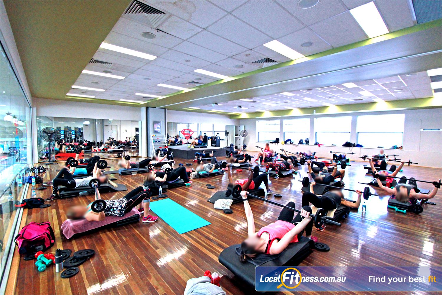 Casey Arc Near Berwick Over 90 classes per week inc. Narre Warren Yoga, Pilates, Zumba and more.