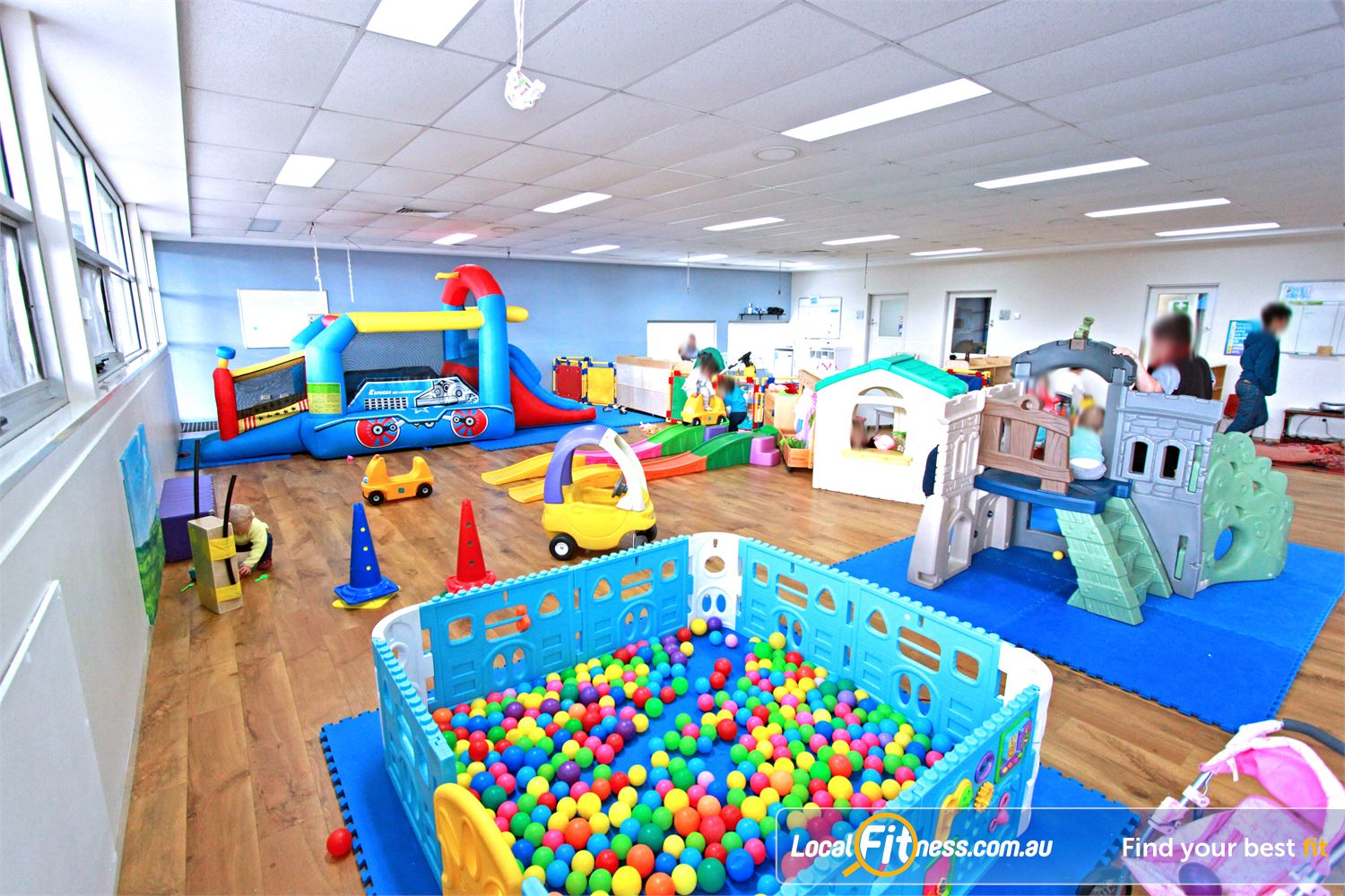 Casey Arc Narre Warren On-site Narre Warren child minding while you train or shop.