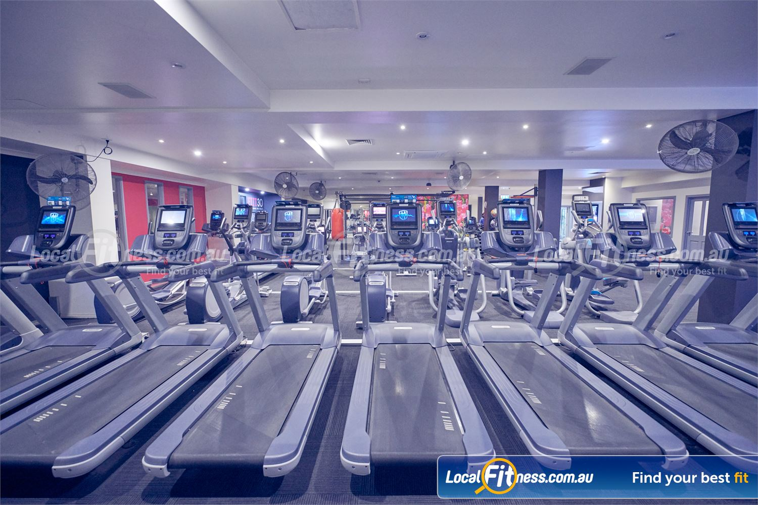 Fernwood Fitness Bulleen Our 24 hour Bulleen gym provides state of the art cardio equipment.