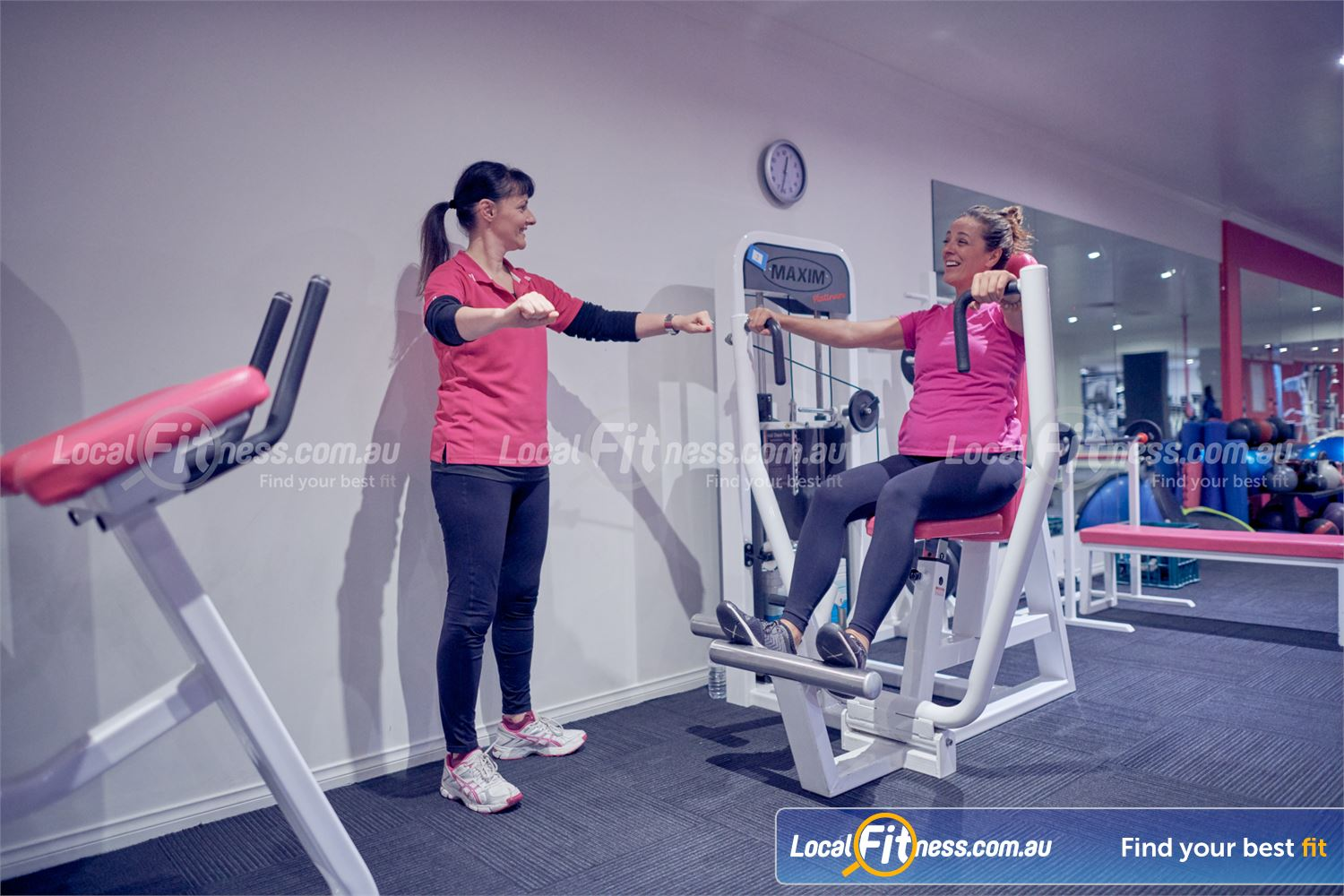 Fernwood Fitness Near Mont Albert North Our Bulleen womens gym provides easy to use pin-loading equipment.