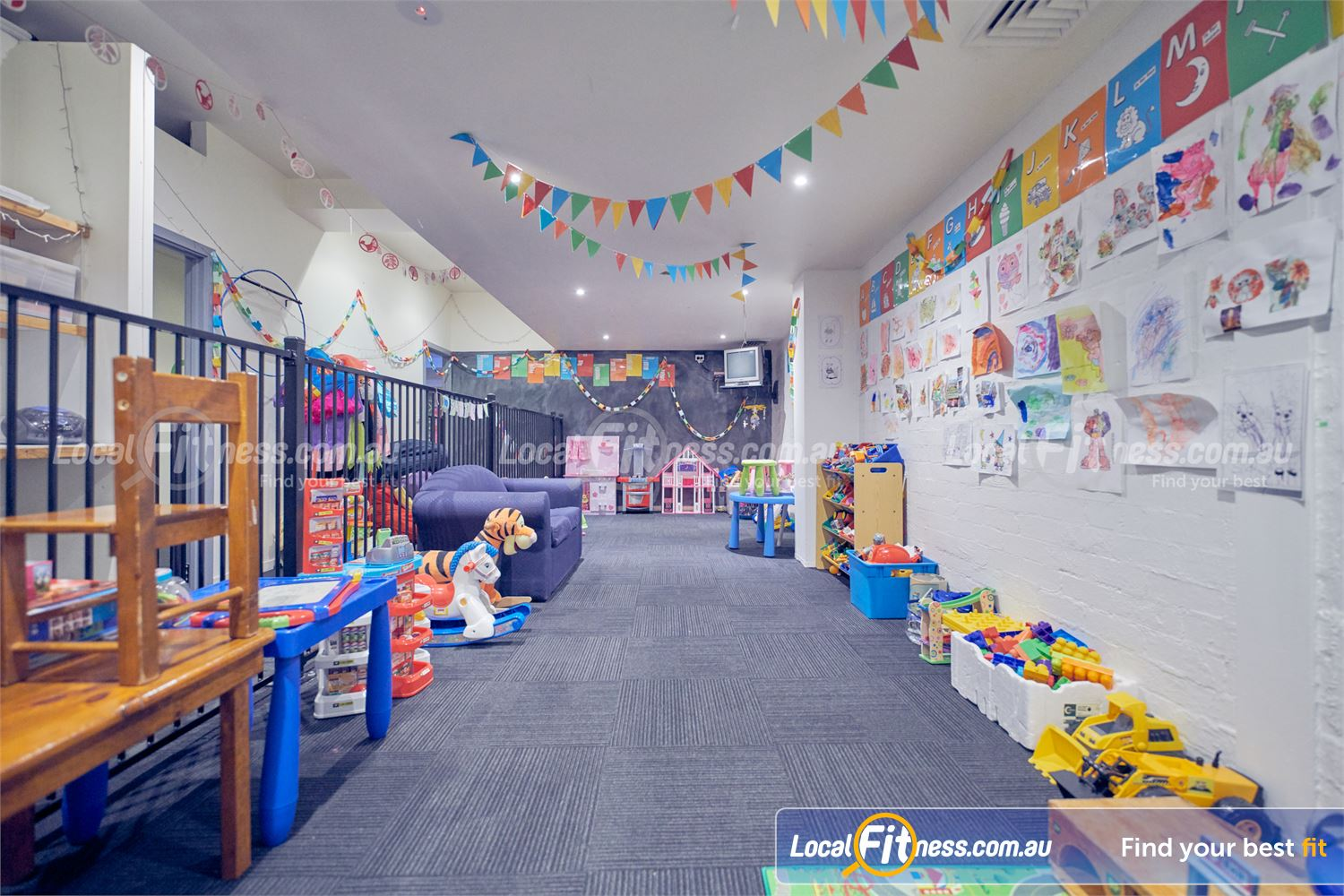 Fernwood Fitness Bulleen Convenient on-site Bulleen child minding facilities.