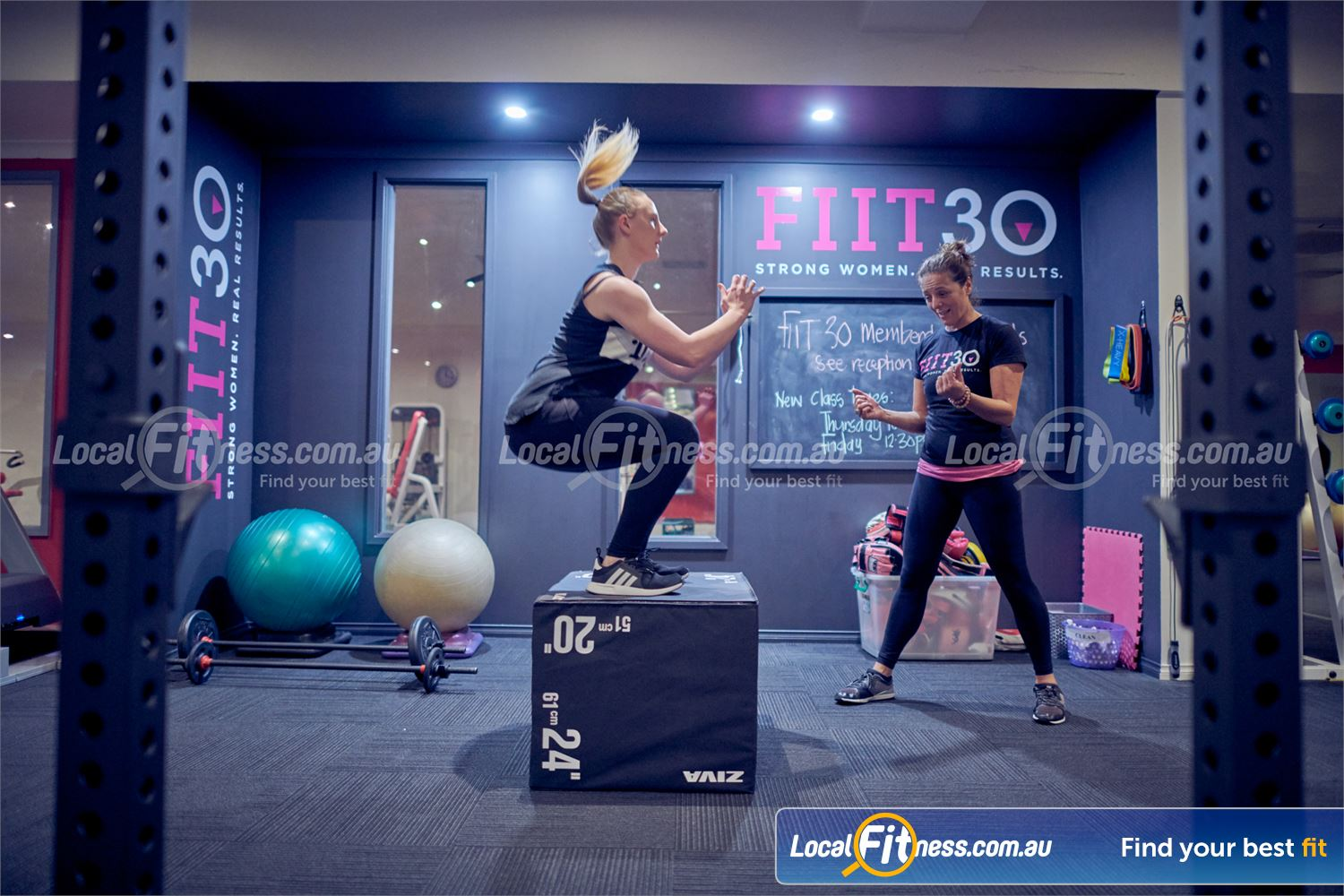 Fernwood Fitness Near Mont Albert North Get into functional training with the Fernwood FIIT30 program.