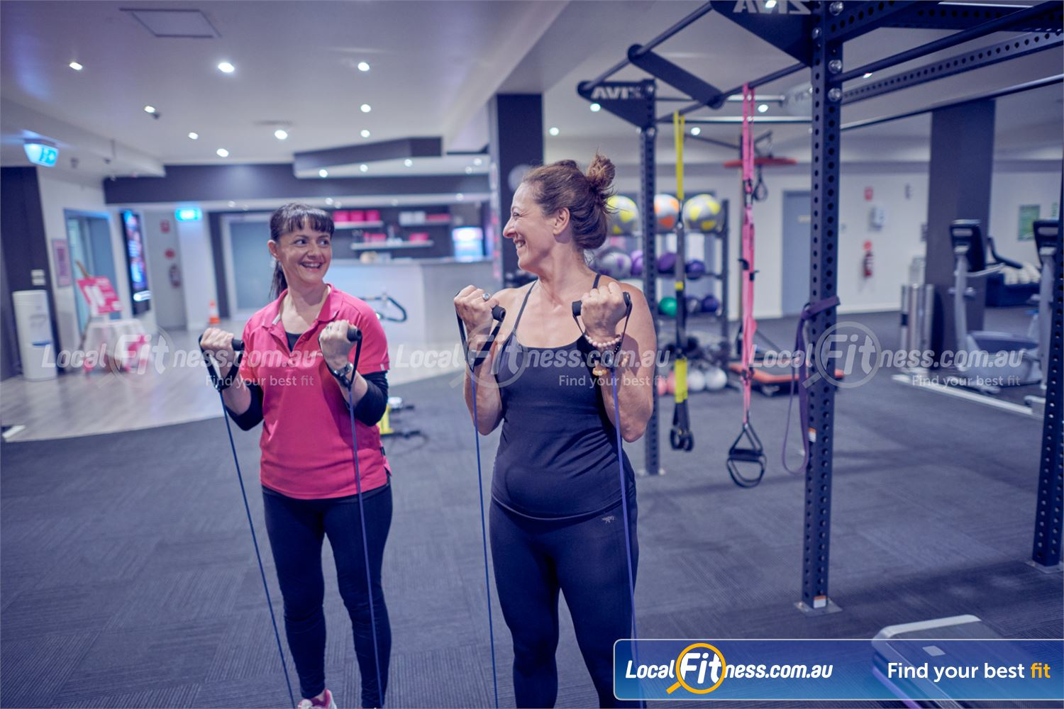 Fernwood Fitness Near Mont Albert North Our Bulleen gym team can help you with a strength and weight-loss program to suit you.<br />