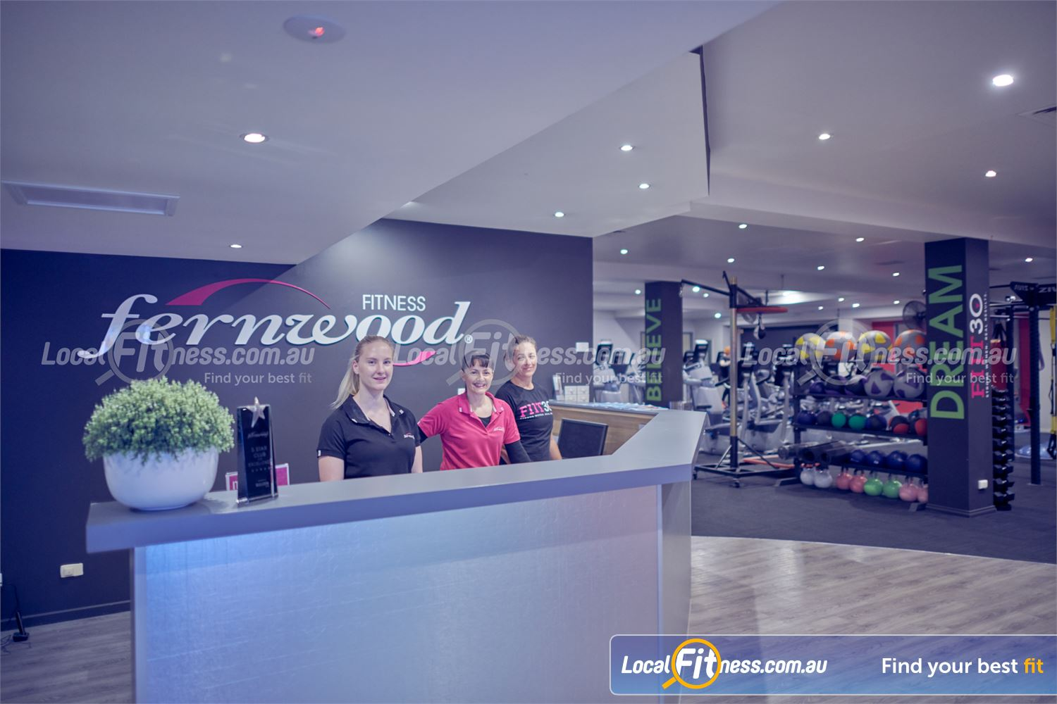 Fernwood Fitness Bulleen Our Bulleen gym team will help you on your fitness journey when you arrive.