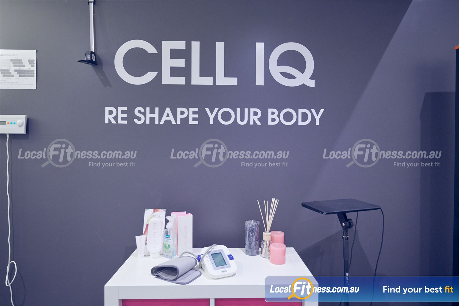 Fernwood Fitness Near Templestowe Lower Reduce cellulite and fat with Cell IQ in Bulleen.
