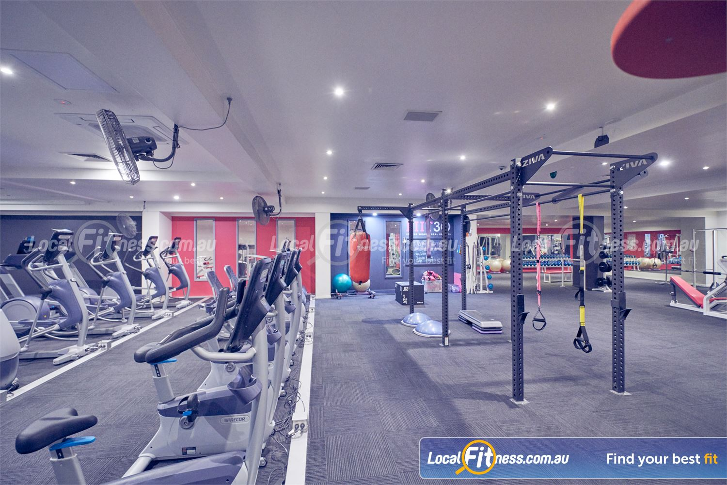 Fernwood Fitness Near Doncaster gym, cardio, functional training for women under one roof at Fernwood Bulleen.