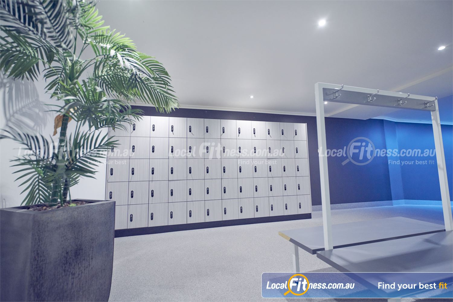Fernwood Fitness Near Templestowe Lower Secure your belongings in our complimentary locker facilities.