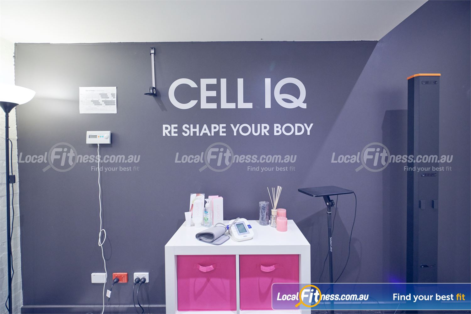 Fernwood Fitness Bulleen Re-shape your body with revolutionary Cell IQ technology.