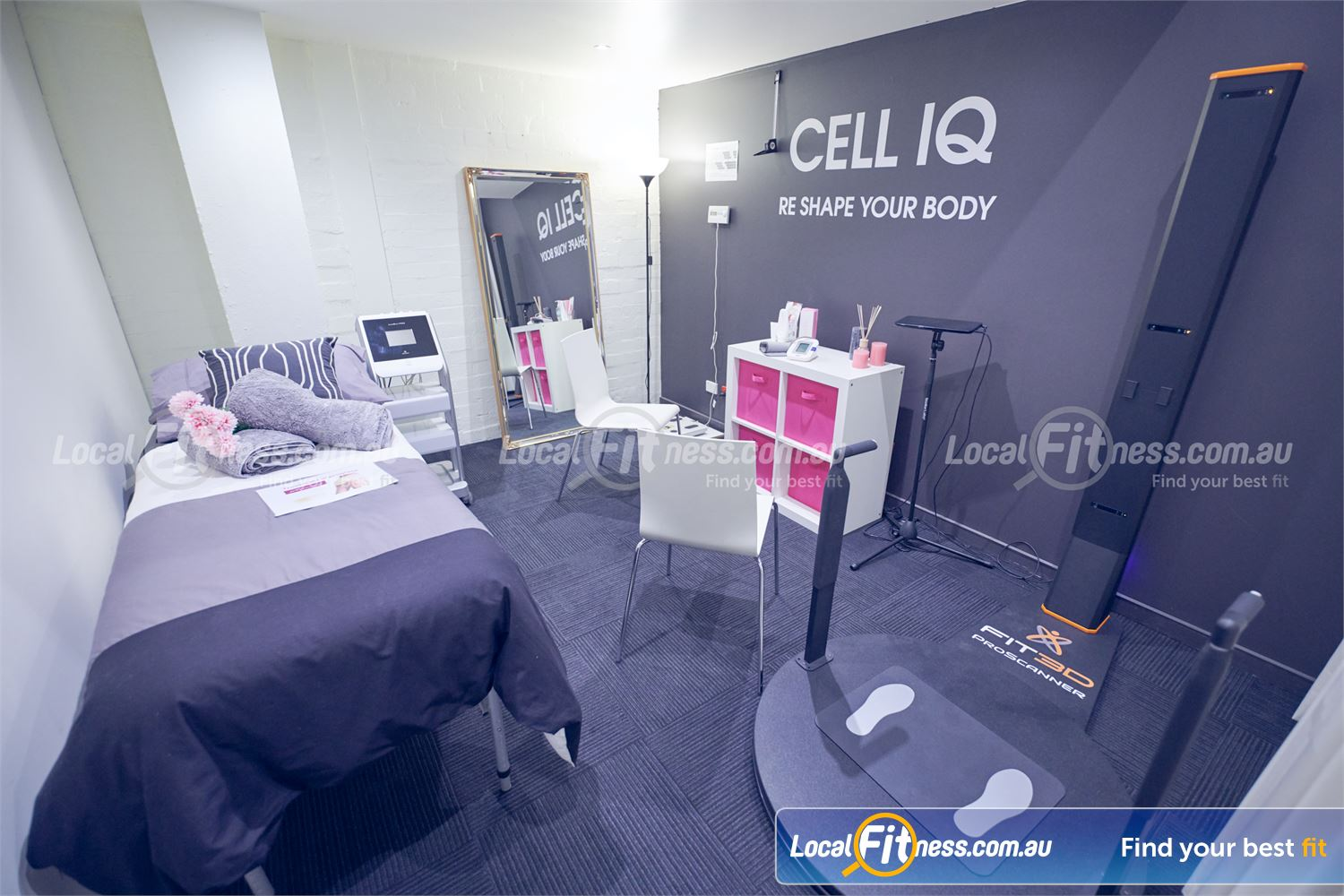 Fernwood Fitness Near Templestowe Lower Get rid of stubborn fat and cellulite with Cell IQ.