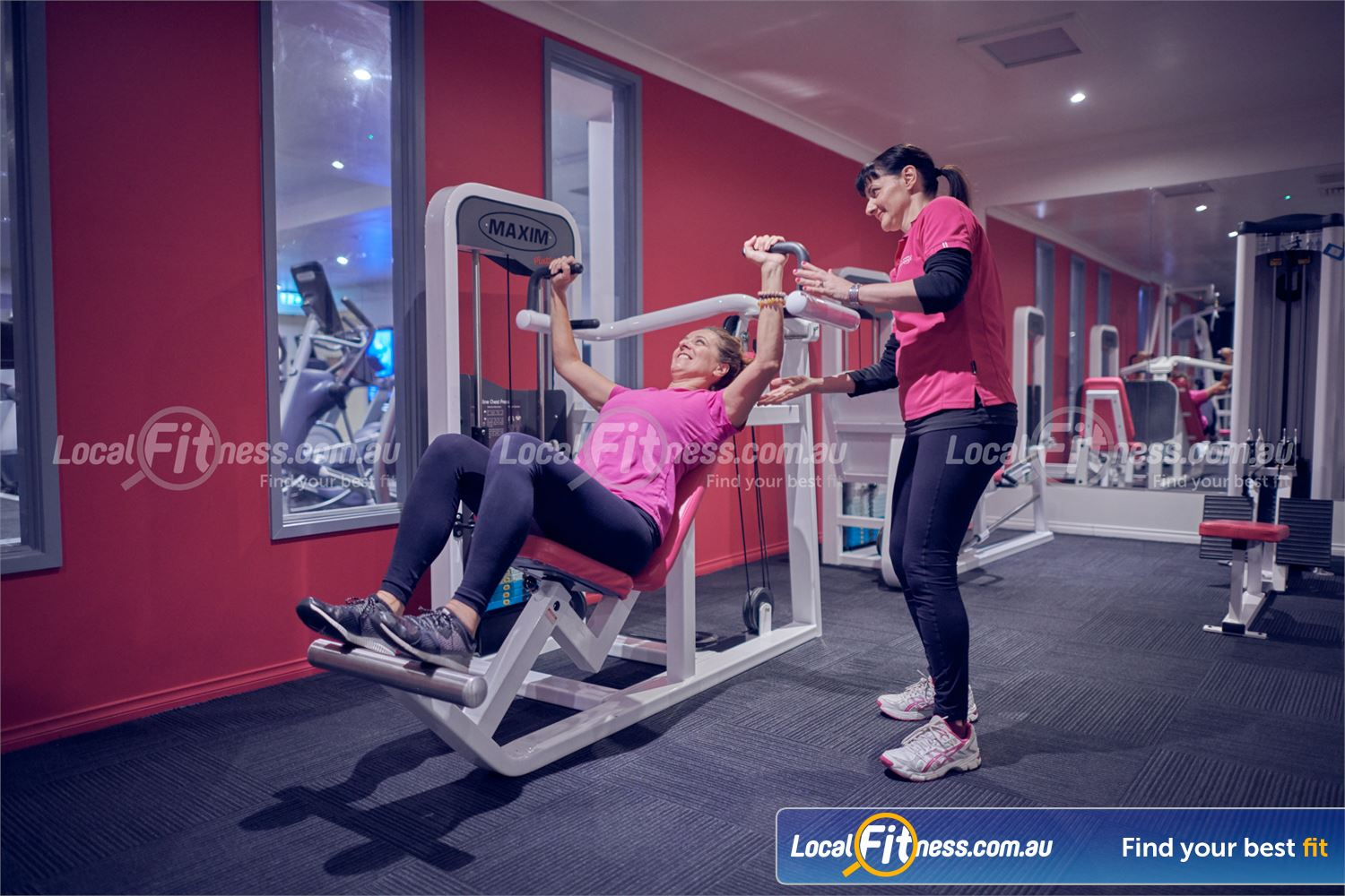 Fernwood Fitness Near Mont Albert North Our womens Bulleen gym includes easy to use state of the art pin-loading equipment.