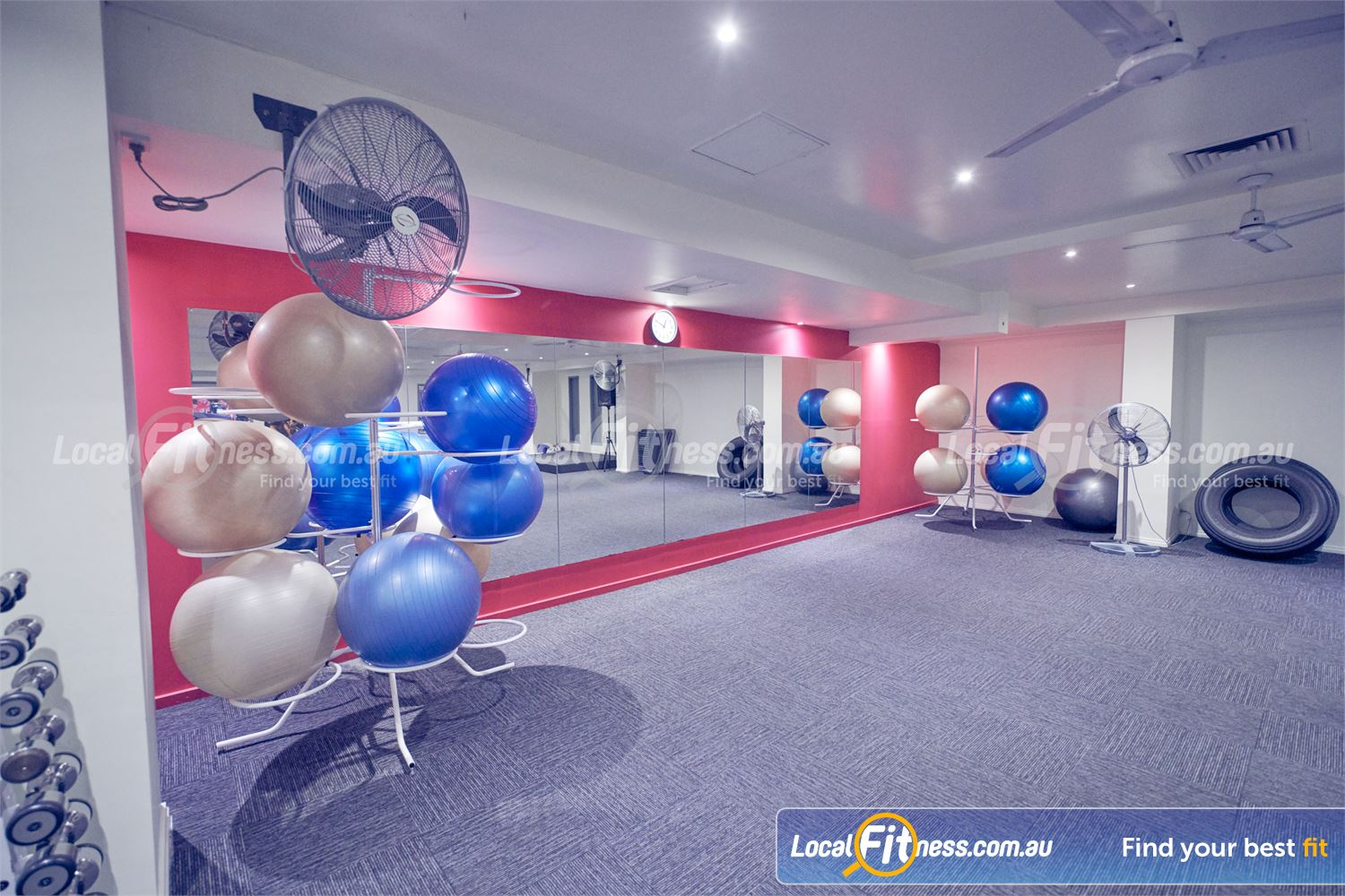 Fernwood Fitness Bulleen Build your core with our range of fitballs.