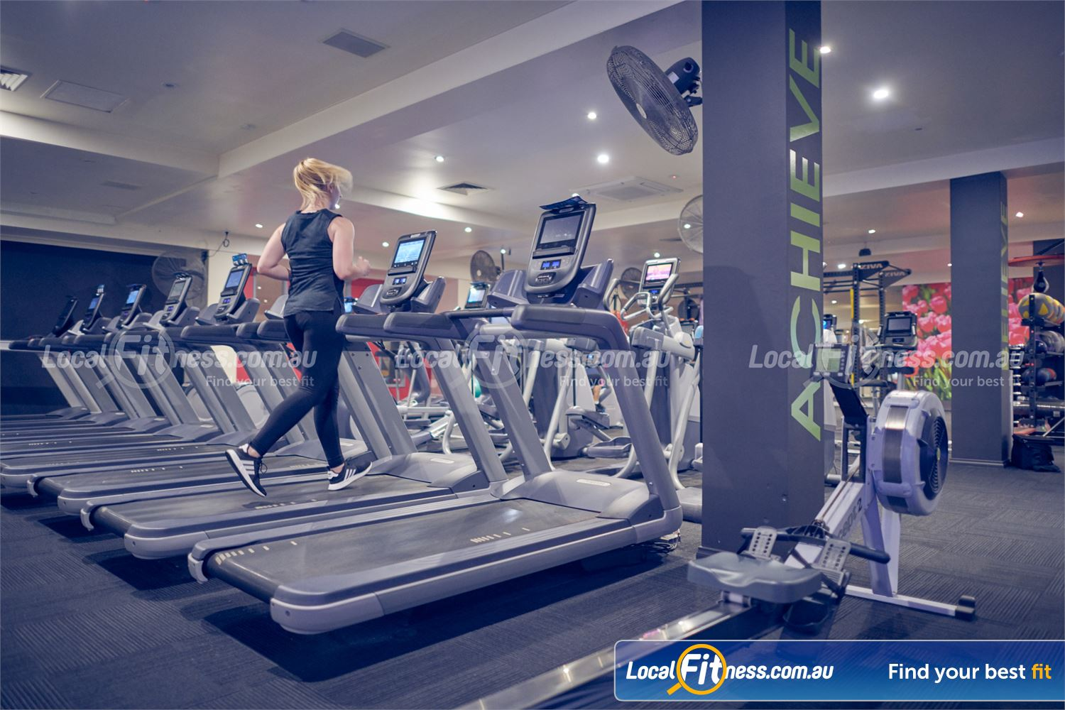 Fernwood Fitness Near Mont Albert North Treadmills, rowers, cross-trainers and more.