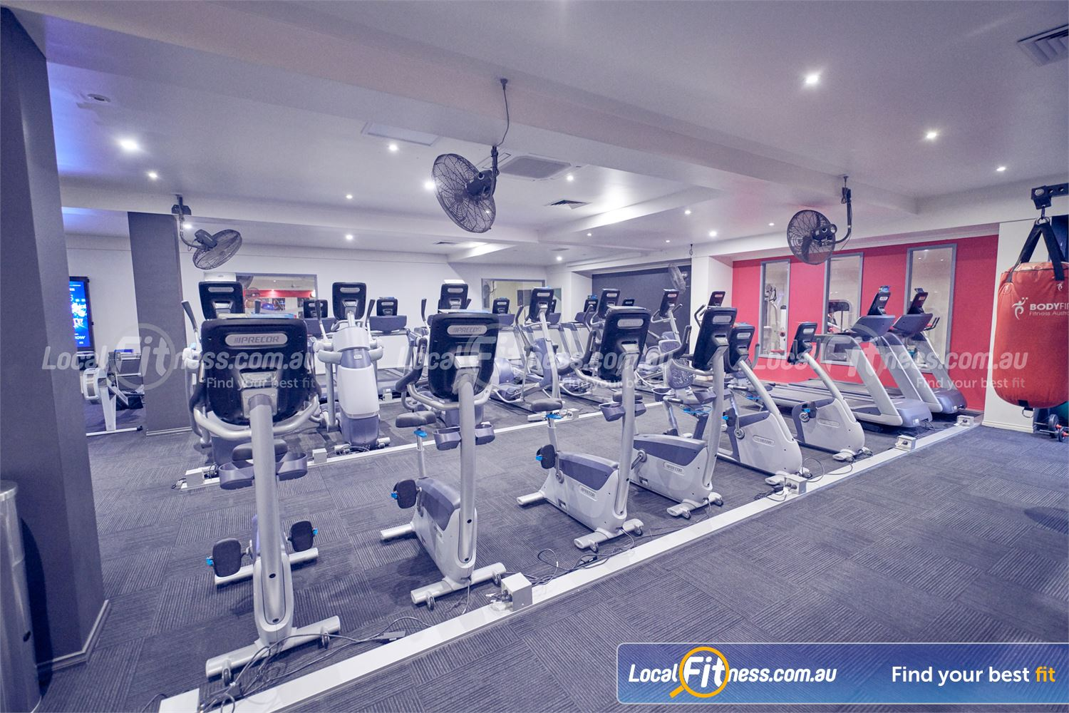 Fernwood Fitness Bulleen Our cardio area is purely dedicated to women's fitness in Bulleen.