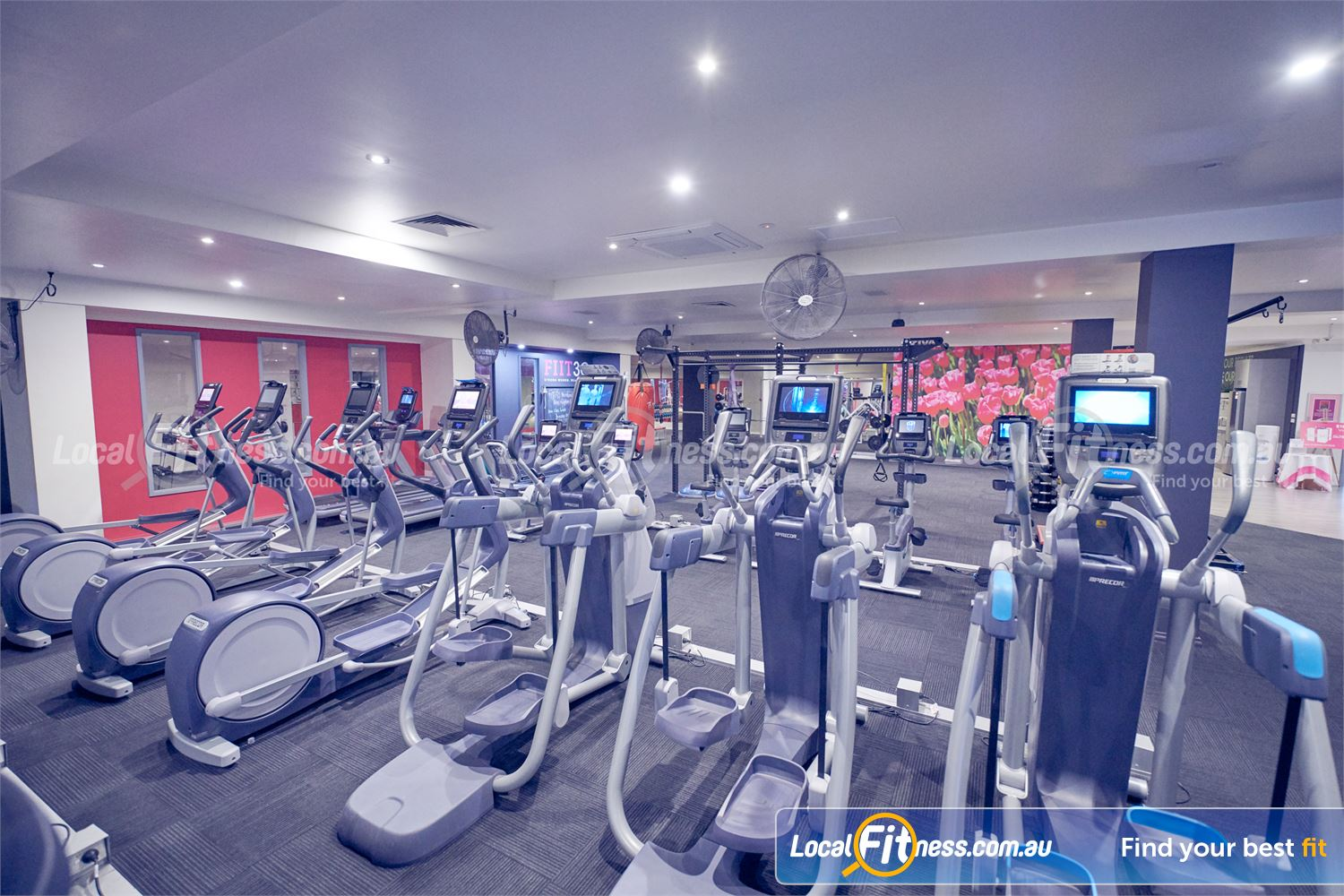 Fernwood Fitness Near Templestowe Lower Enjoy a cardio workout when you want with 24 hour Bulleen gym access.