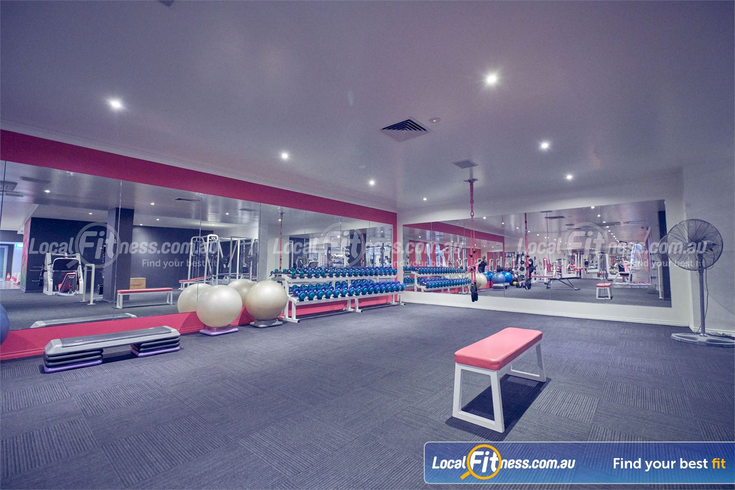 Fernwood Fitness Near Doncaster Our free-weights area is fully equipped with dumbbells, barbells and more.