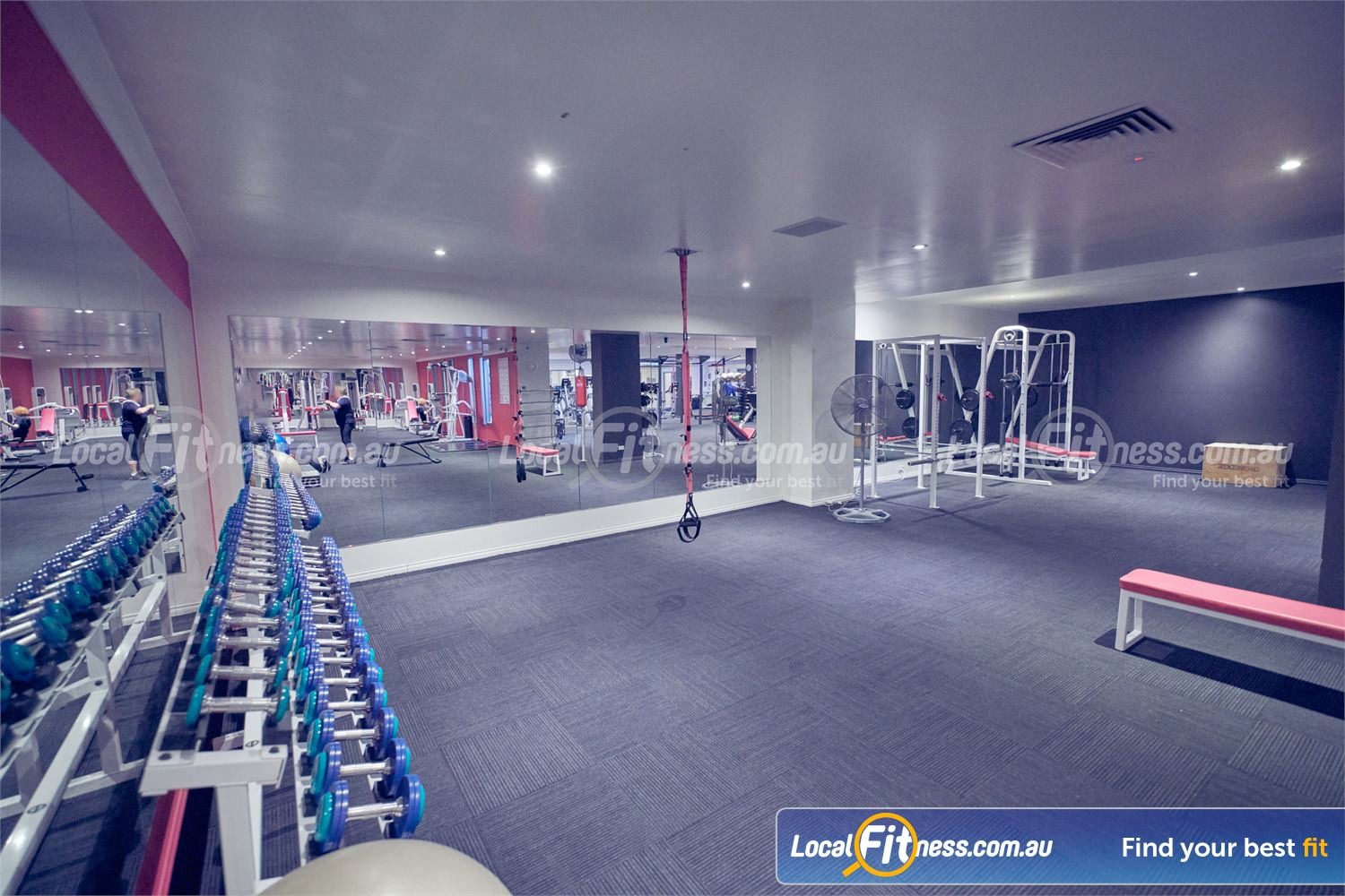 Fernwood Fitness Near Templestowe Lower Our free-weights area is open around the clock with 24/7 Bulleen gym access.